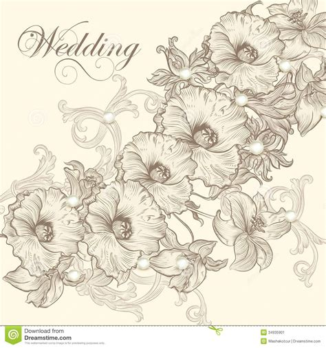 wedding invitation card for design stock image image