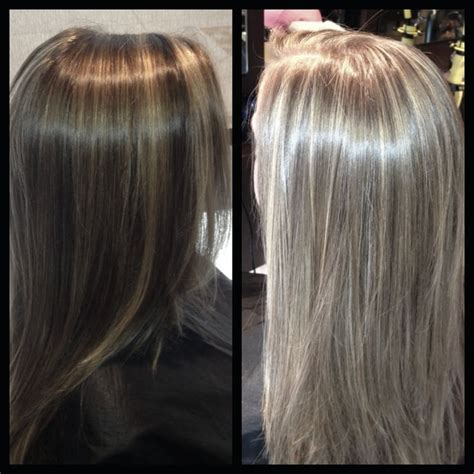 highlights vs lowlights gray hair highlights lowlights hair ideas that i love pinterest