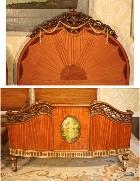 art nouveau bed pair of art nouveau beds at 1stdibs