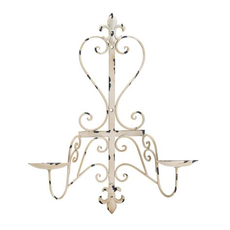 fleur de lis home decor wholesale antiqued fleur de lis candle sconce wholesale at koehler