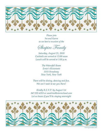 free family reunion letter templates family reunion template frt 08