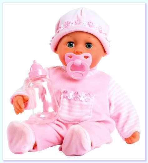 bayer design baby doll little face baby s first words baby doll with eyes that