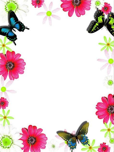 Kartu Ucapan Flower ilustrasi gratis warna warni bingkai kartu ucapan