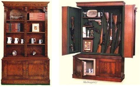 hidden gun cabinet bookcase pin by the survivalist s enclave on combat multiplier