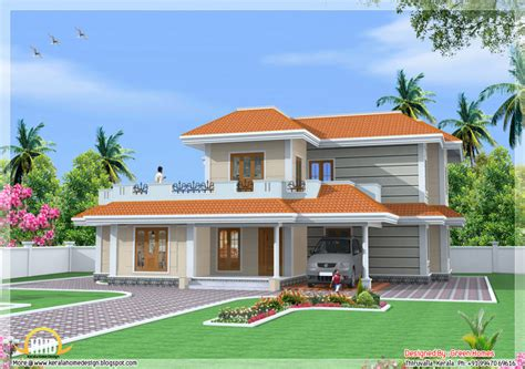 2 floor indian house plans home design bedroom double storey india house sqft kerala