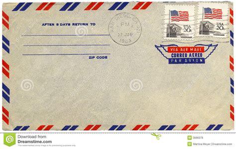 airmail envelope printable vintage airmail envelope royalty free stock image image