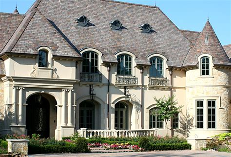 french chateau style homes french chateau style home home elevations pinterest