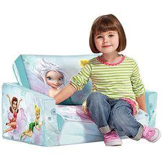 tinkerbell flip open sofa character fabric on disney characters