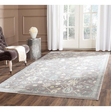 safavieh valencia mauve 9 ft x 12 ft area rug val116d 9 the home depot