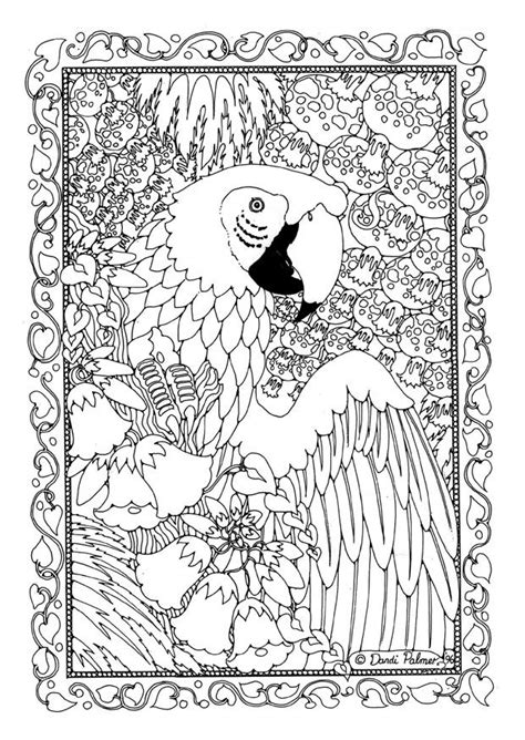 Adults Advanced Coloring Pages Difficult Coloring Pages Detailed Coloring Pages Of Animals