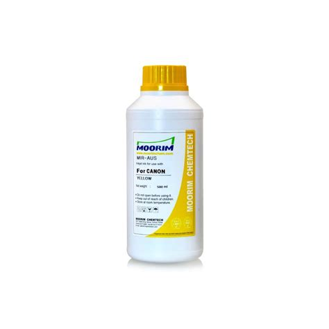 Canon Cli 8 Yellow yellow refill dye ink for canon cli 8