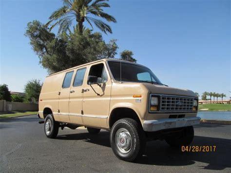 old car manuals online 2002 ford econoline e250 regenerative braking 1991 ford econoline e350 quigley 4x4 must look inside 15k miles no reserve az for sale photos