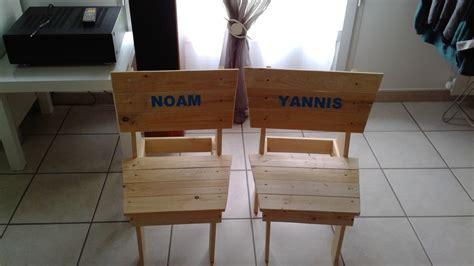 chaise en palette chaise enfant palette bois com