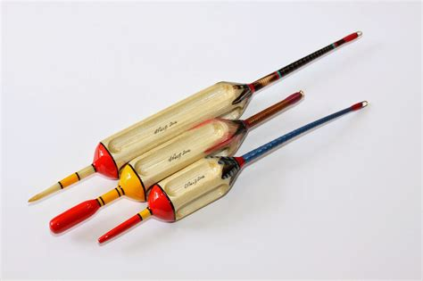 Handmade Fishing Floats - traditional handmade fishing tackle by andrew field