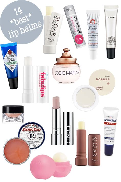 9 Of My Favorite Lip Products by The 14 Best Lip Balms For 2014 Beautiful Makeup Search