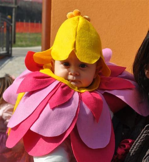 vestito carnevale fiore idee di carnevale il costume da fiorellino per neonato