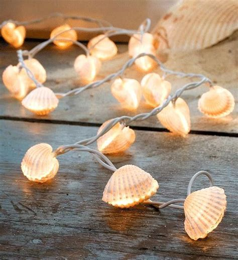 Diy Sea Shell String Lights Shell String Lights
