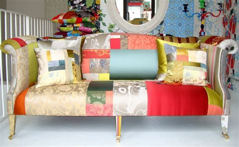 Patchwork Upholstered Furniture - patchwork upholstered furniture decor hacks