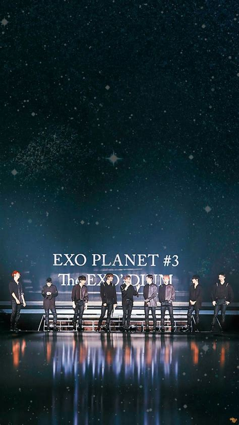 wallpaper for iphone exo exo wallpaper exo wallpaper pinterest exo