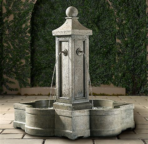 provence fountain