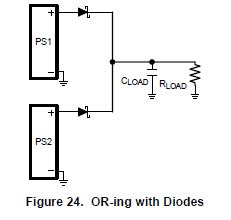 power oring diode power idea handling inputs with diode oring power ethernet poe power