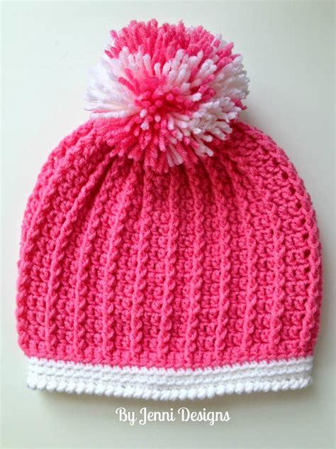pattern crochet ribbed hat by jenni designs free crochet pattern ribbed pre school