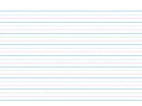 handwriting lines template handwriting paper clipart best