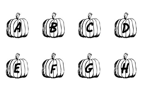 halloween alphabet coloring pages a to h pumpkin coloring pages hellokids com