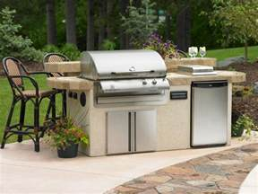 Outdoor Barbecue Kitchen Designs Utilities In An Outdoor Kitchen Hgtv