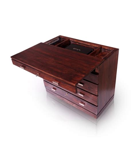 Sheesham Wood Desk by Multi Utility Sheesham Wood Office Desk By Mudramark
