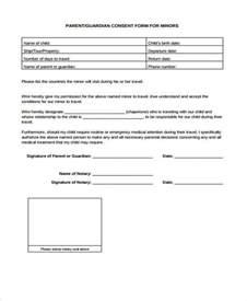 parental consent form template travel travel consent form sles free travel consent form