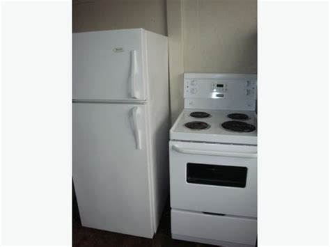 Apartment Fridge Used Apartment Size 24 Quot Fridge And Stove Central Ottawa Inside