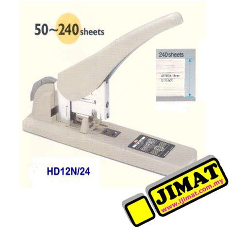 Kenko Stapler 12 L 24 max heavy duty stapler hd 12n 24 240 sheets