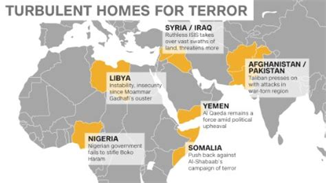 the terrorist threat in africa before and after benghazi books terror groups take advantage of power vacuums insecurity
