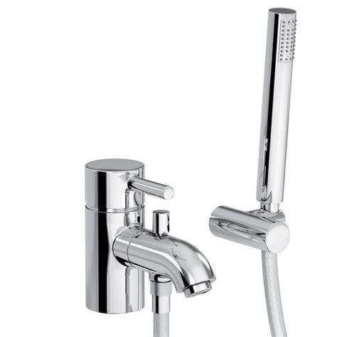 monobloc bath shower mixer abode harmonie monobloc bath shower mixer tap with handset