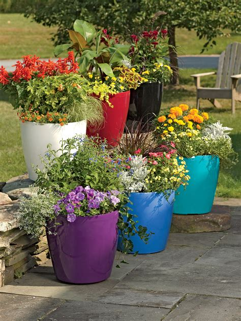 Large Garden Planters And Pots by Container Gardening In Pots Planters And Boxes