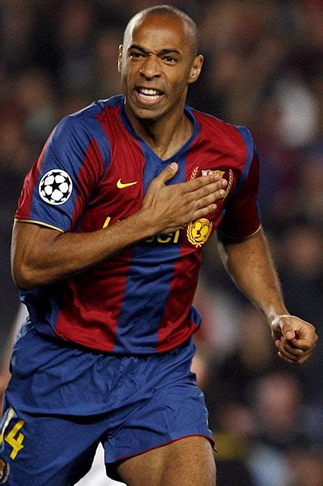 Barcelona Bench by Thierry Henry Is Still On My Mind Reveals Arsenal Boss