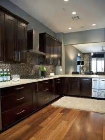blue walls in kitchen wood floors dark kitchen cabinets slate blue gray walls kitchen pinterest dark wood