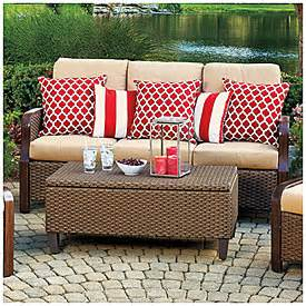 view wilson fisher 174 tuscany resin wicker 6 seating