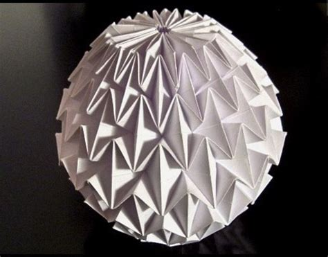 How To Make An Origami Sphere - alfred s 1 cool origami figure