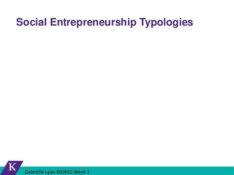 Social Entrepreneurship Mba by What Is Quot Social Quot In Social Entrepreneurship
