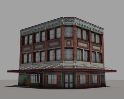 appartment store 3d max apartment block