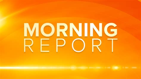 Morning Report Template