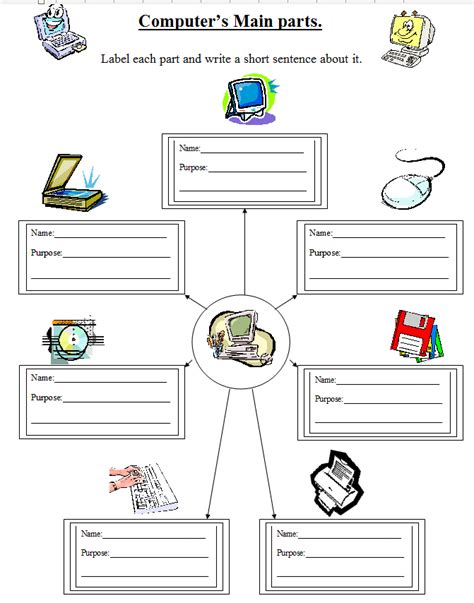 Computer Basics Worksheet by Computer Basics