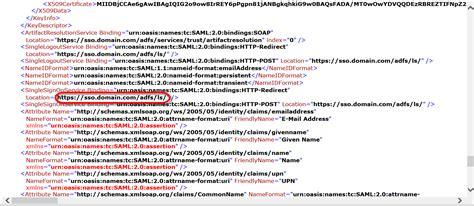 xml metadata tutorial how to set up single sign on to targetprocess with adfs 2 0