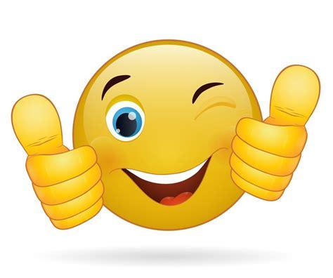 imagenes thumb up quadro su tela pollice su emoticon cartello giallo