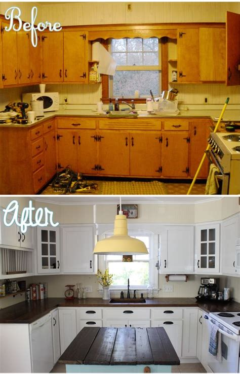 the simplest and easiest diy kitchen remodel that will not