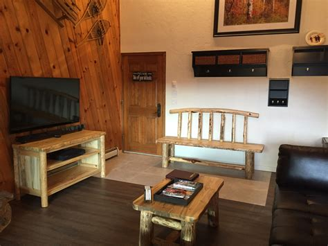 log home living room furniture custom log furniture for your vacation home or condo