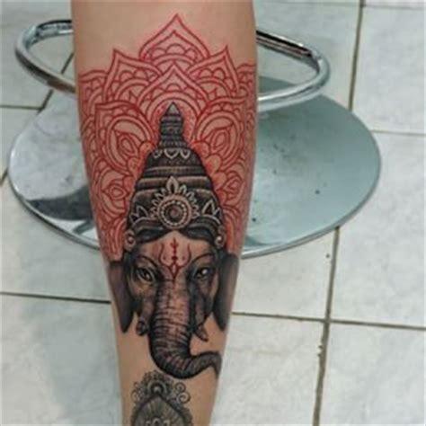 ganesh mandala tattoo ganesh mandala tattoo instagram photo by pargadaniel
