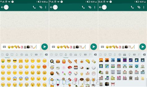 new emojis android whatsapp for android gets new emojis
